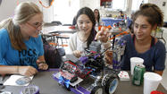 Girl Scouts work to come in 'FIRST' in international robotics challenge