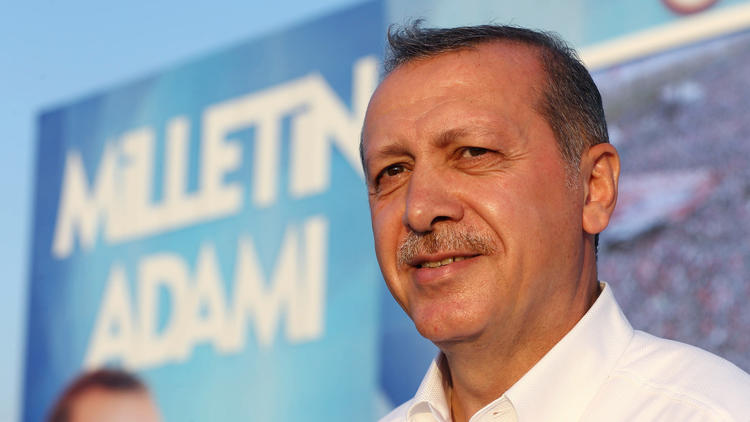 Turkish President Recep Tayyip Erdogan (Kayhan Ozer / Associated Press)