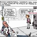 Republican gubernatorial candidate Neel Kashkari spent a week living on streets as a homeless person ...