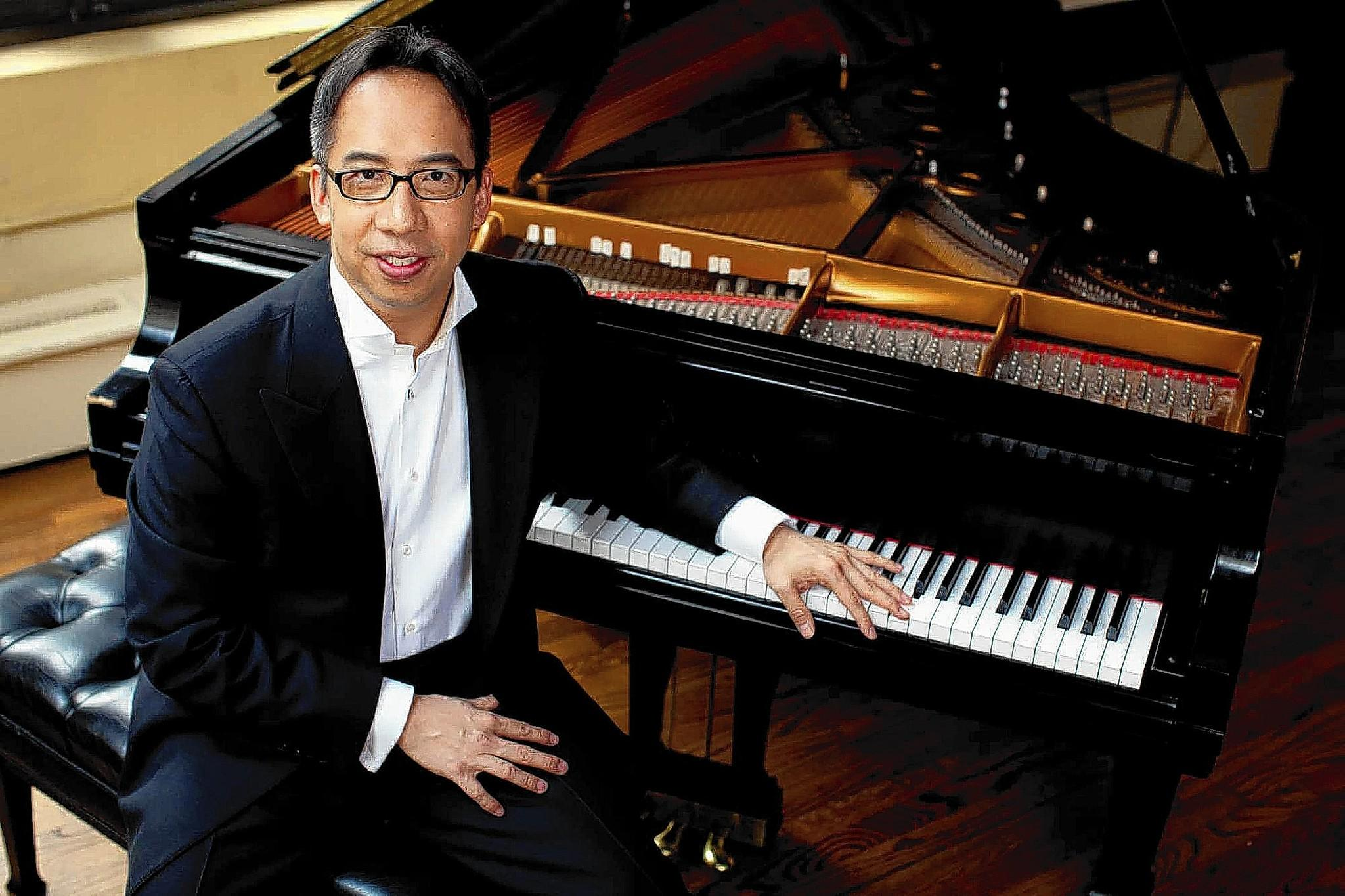 Pianist Joel Fan performs an all-Russian program Aug. 9 with the Russian Festival Chamber Orchestra at Music at Gretna at the Mt. Gretna Playhouse.
