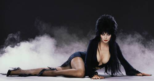 """Elvira's Big Top"" will include singing, dancing and comedy by the Mistress of the Dark."