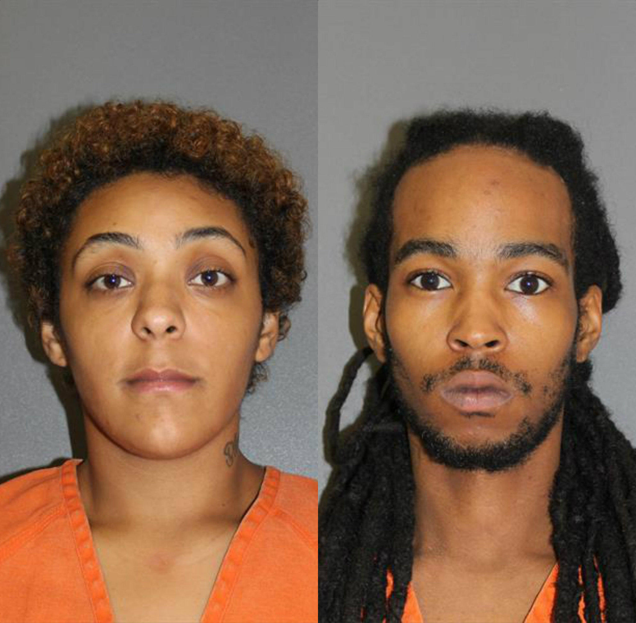 Carisa Hall and Daniel Evans III, both of South Daytona, are accused in a home-invasion robbery in Palm Coast.