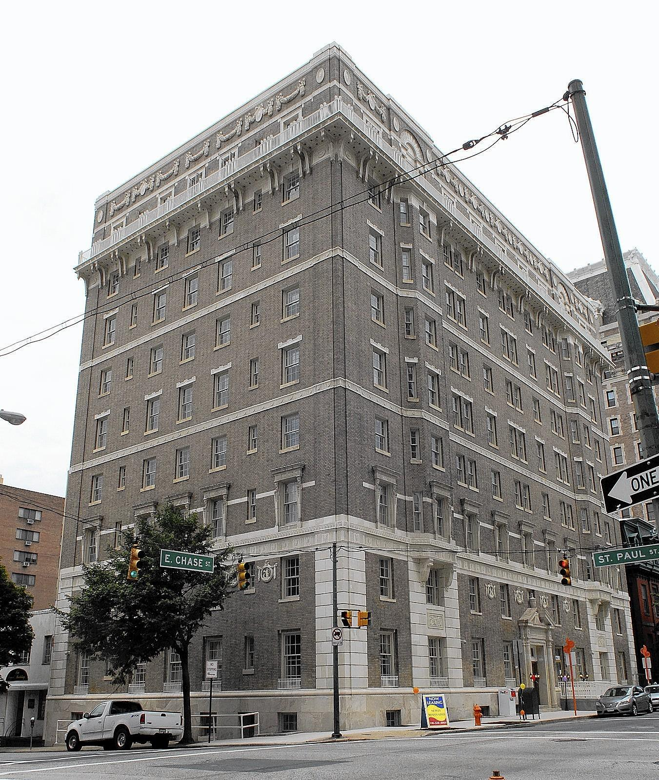 The Algonquin apartment building was first built in 1912.