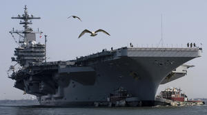 Hampton Roads aircraft, ships part of Navy presence near Iraq