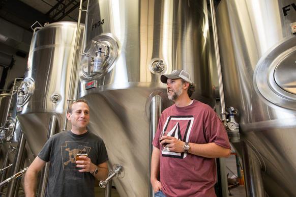 businessmen reborn as beer barons baltimore sun