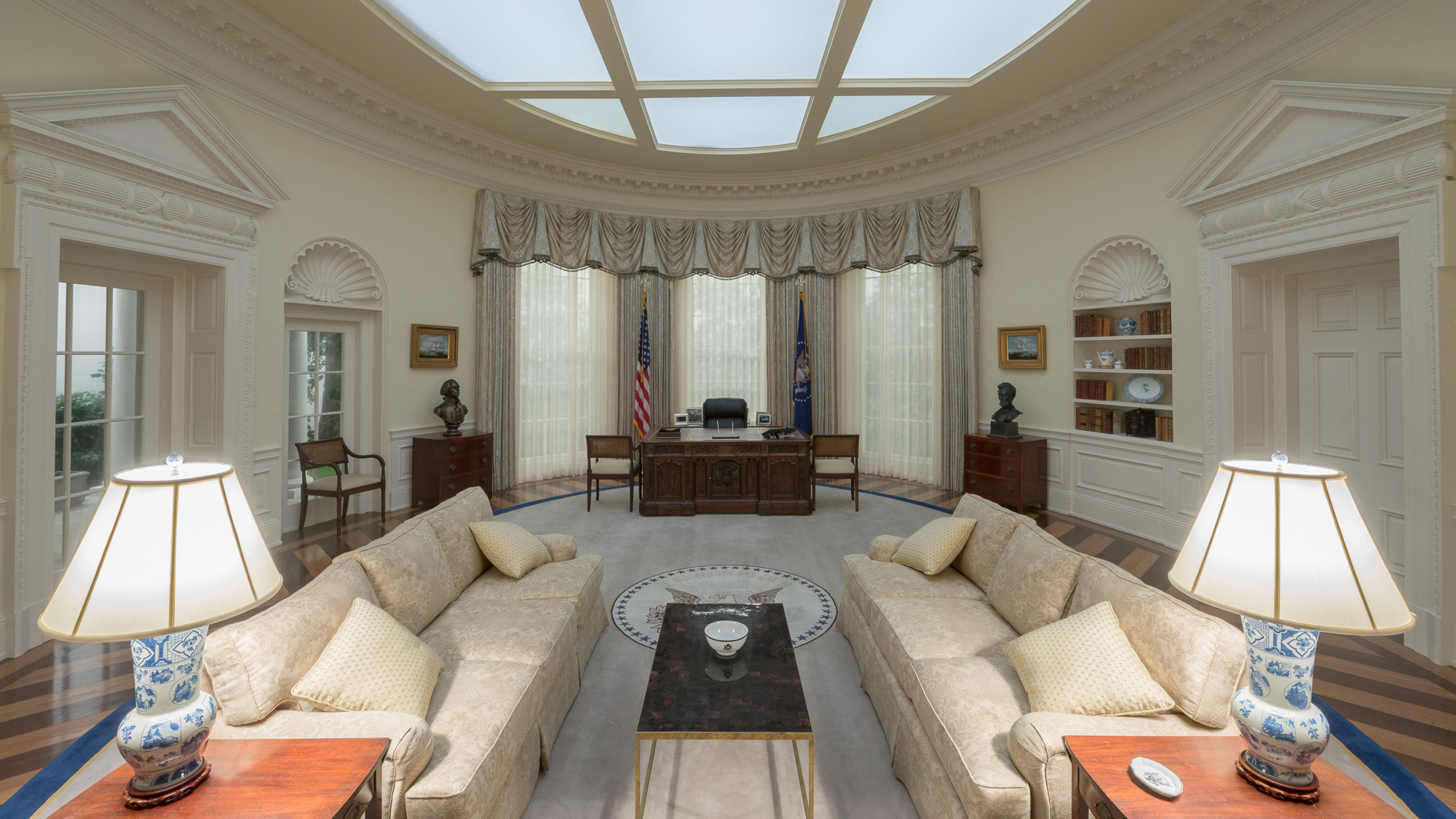 The Oval Office From House Of Cards Baltimore Sun