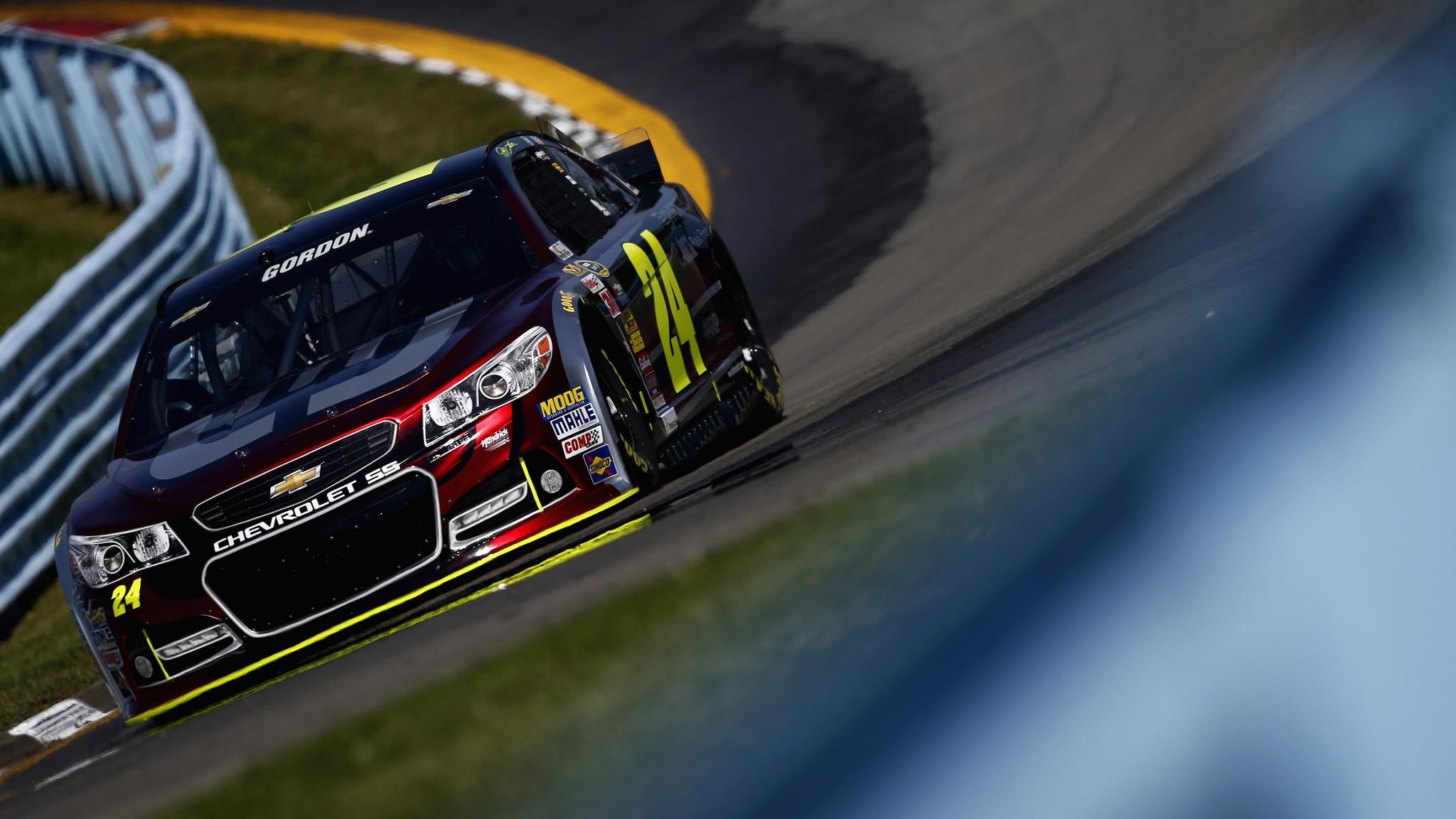 Nascar Pole Position >> Jeff Gordon takes pole position for NASCAR Watkins Glen race - LA Times