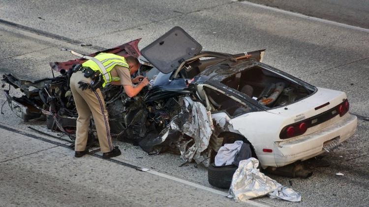 Fatal crash on the 210 Freeway