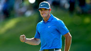 Rory McIlroy leads new name by one at PGA