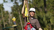 Zipline Safari in Osceola County