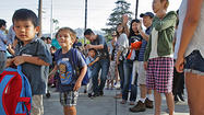 Photo Gallery: First day of school at Mark Keppel Visual and Performing Arts Magnet School in Glendale