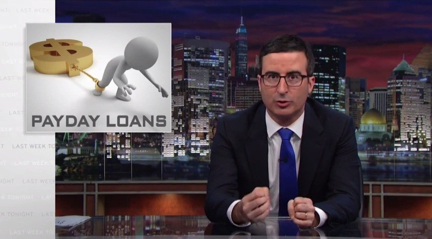 John Oliver skewers payday lenders. Now, what to do about their customers? - LA Times