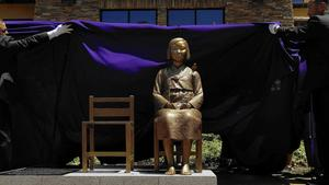 Federal judge upholds 'comfort women' statue in Glendale park