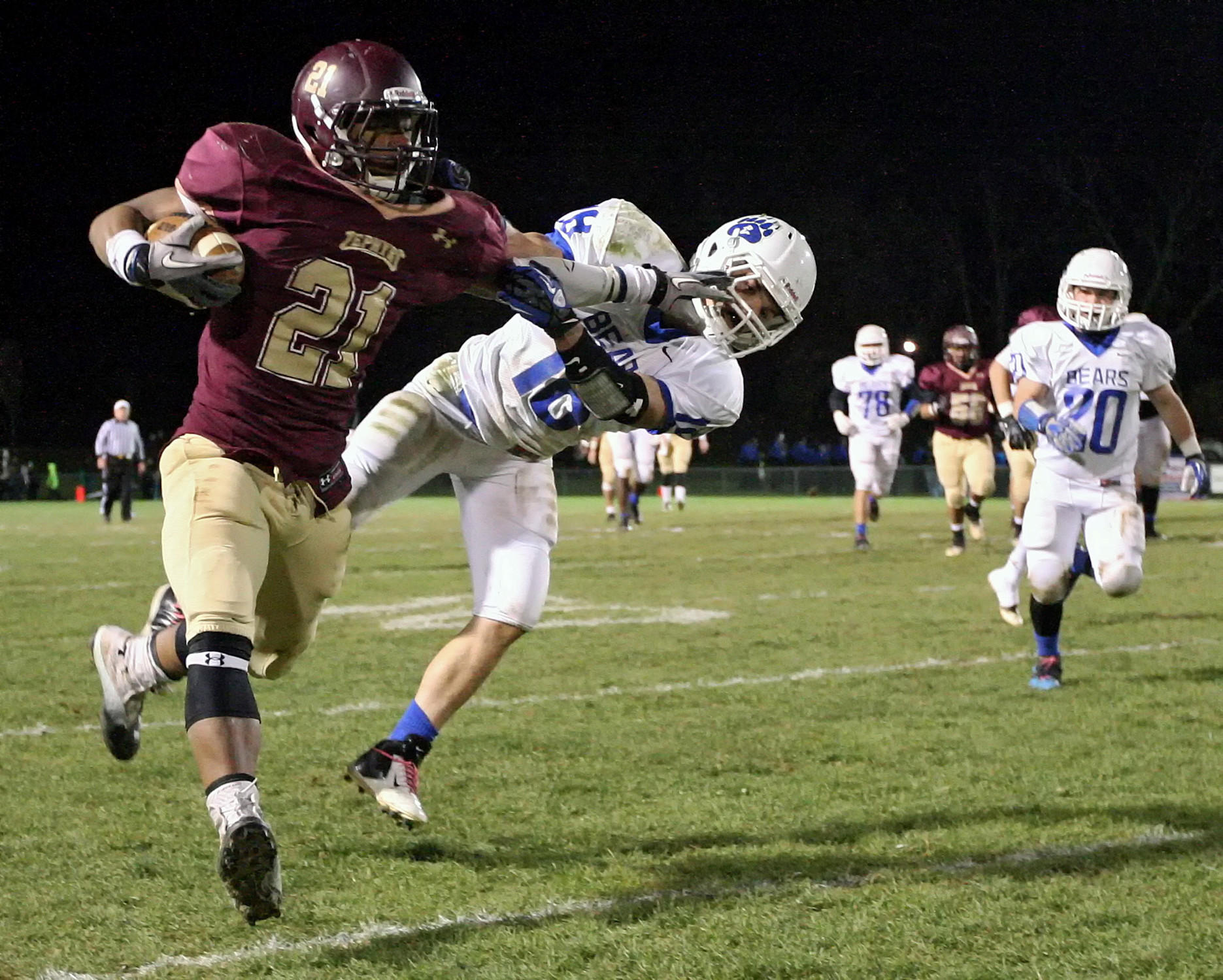 Whitehall RB Saquon Barkley continues to receive scholarship offers but remains committed to Penn State.