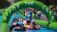 A drought is no time for a giant water slide in Los Angeles