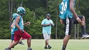 Video: Woodside eighth-grade football program