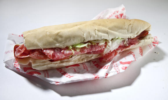 Jimmy John's sandwich