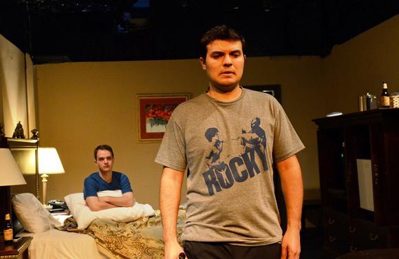 "Michael Manocchio and Derek Garz in ""Mike and Seth."""