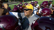 Dunbar begins football preseason with interim coach