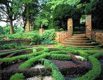 The garden at Agecroft Hall in Richmond is one of several on the new Richmond Garden Trail.