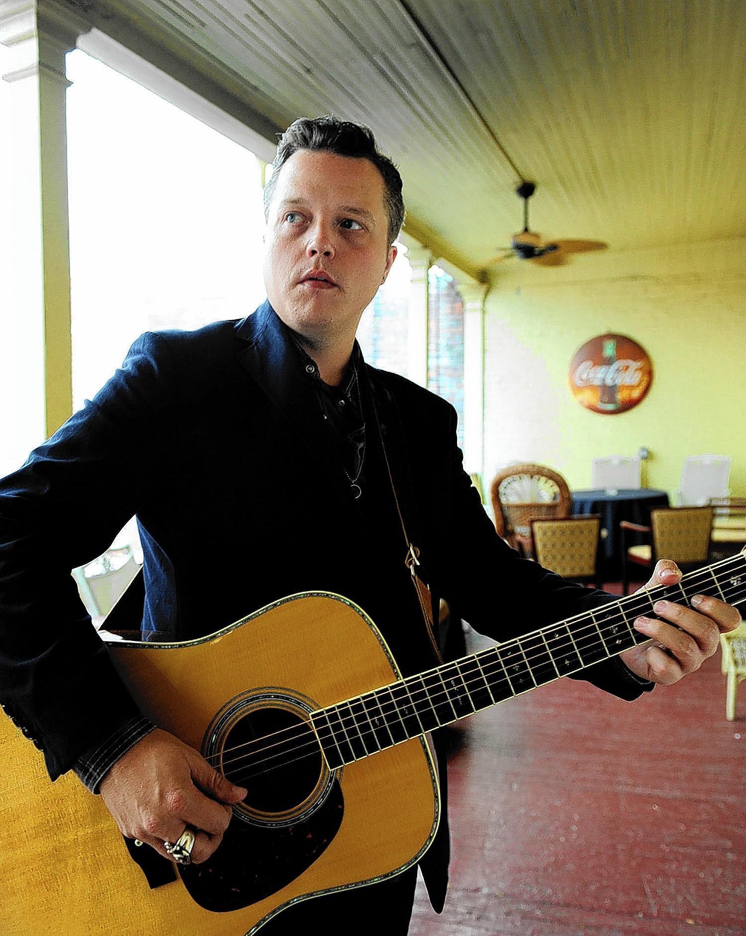 Jason Isbell, former frontman for Drive By Truckers, performs Sunday at Philadelphia Folk Festival.