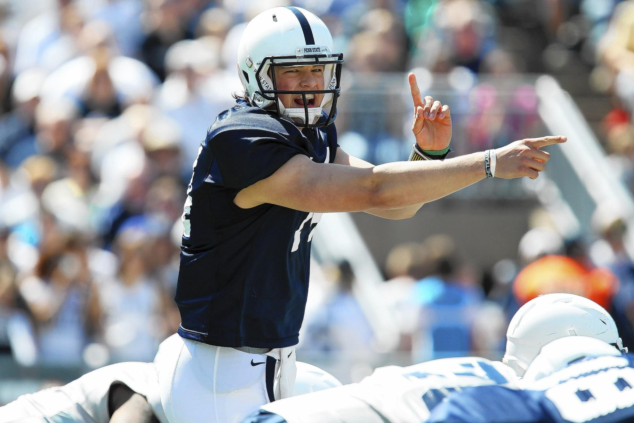 Quarterback Christian Hackenberg is the first sophomore to be named a Penn State football captain.