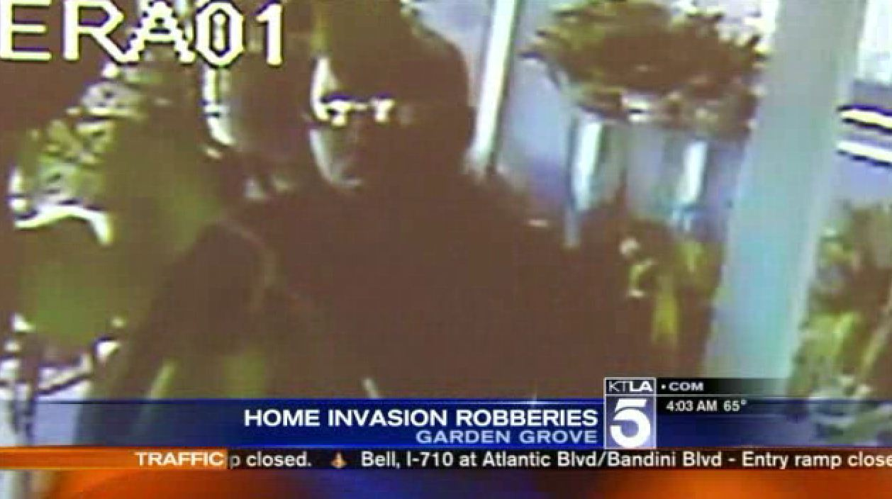 Surveillance Video Catches Men Posing as Deliverymen Burglarizing ...