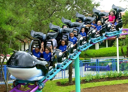 Florida Getaways of the Day - <b>Orlando:</b> Whale ride is a family-friendly coaster