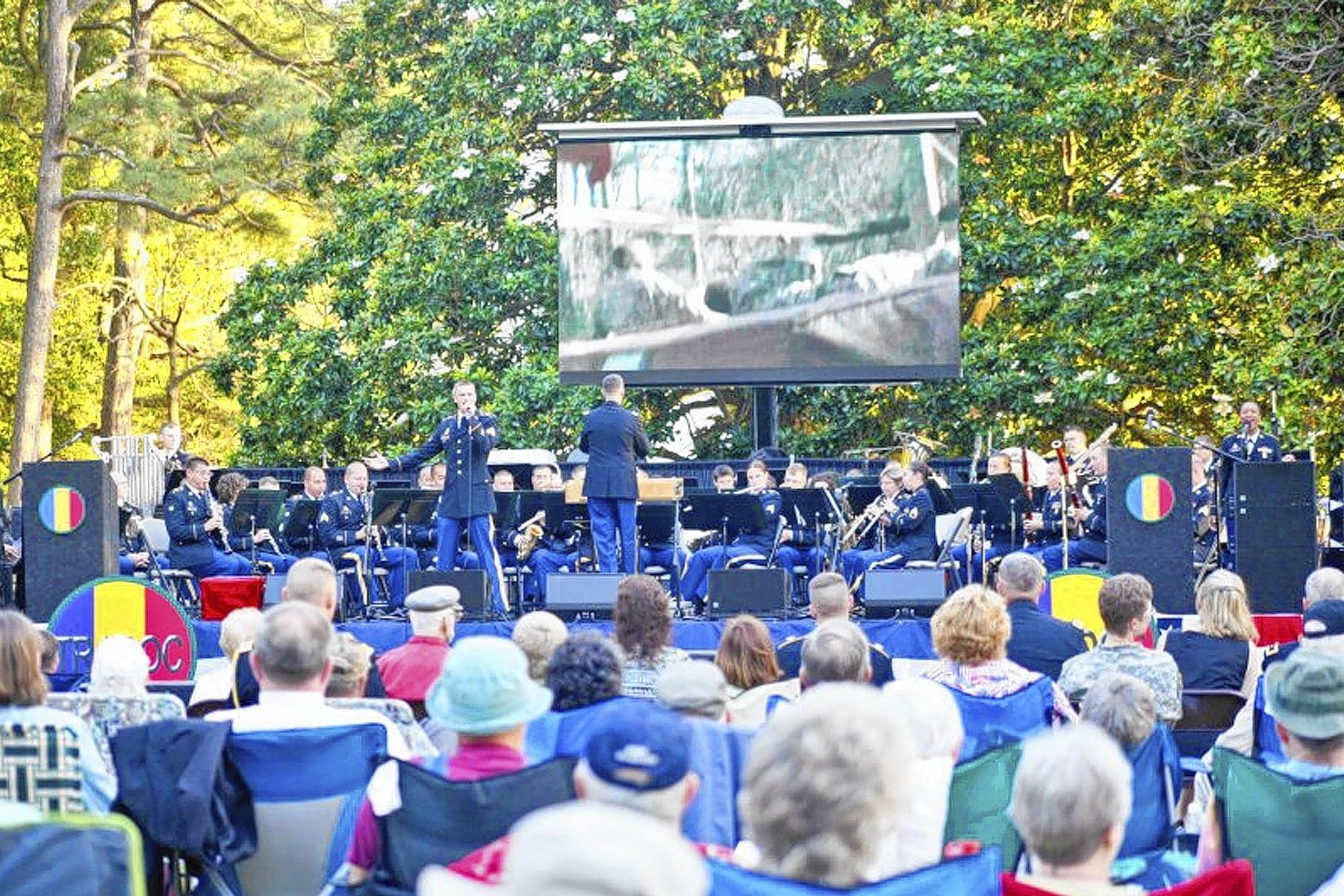Music Under the Stars with the TRADOC Band