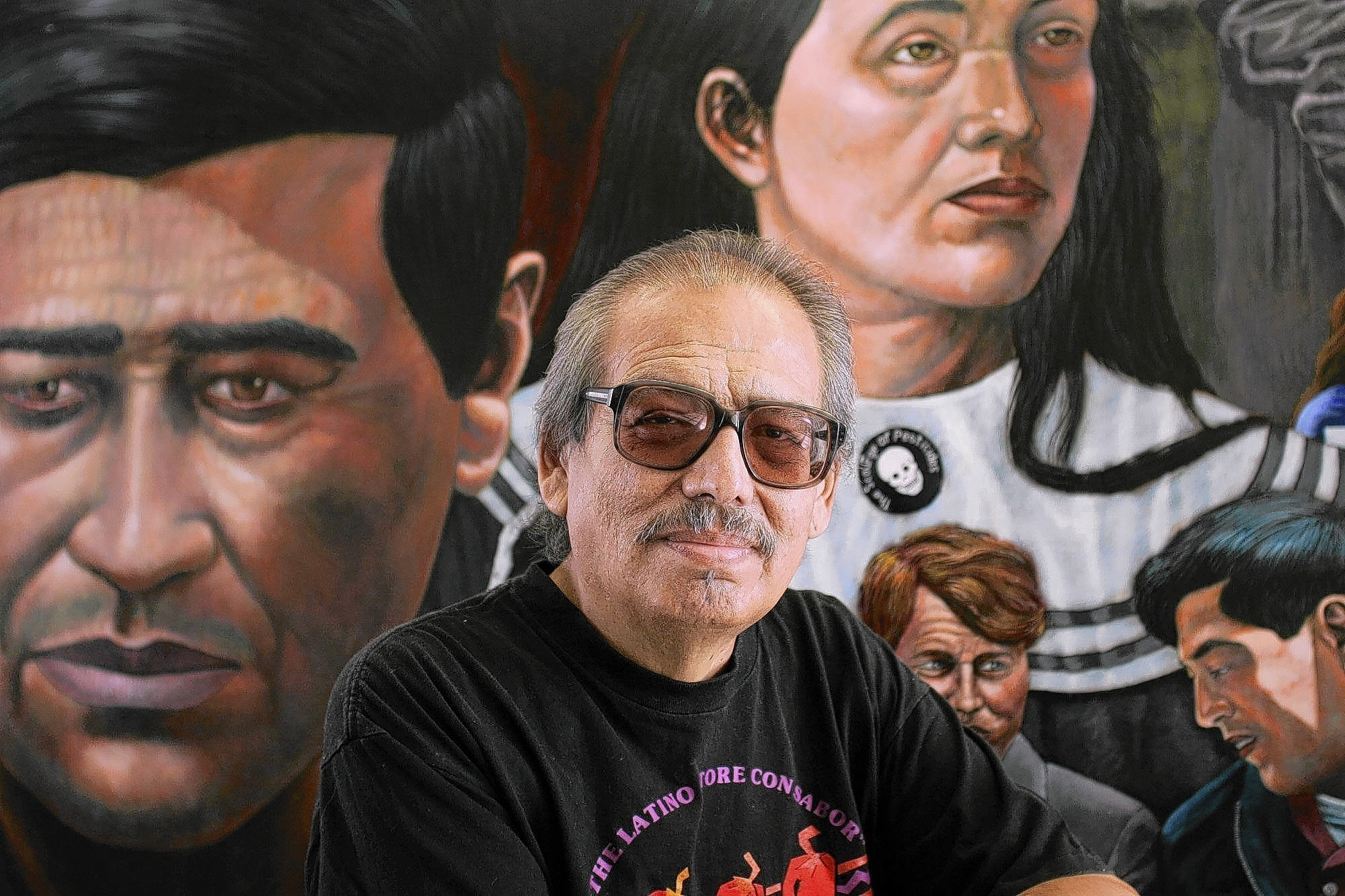 a biography of emigdio vazquez the painter of the cesar chavez mural The work of emigdio vasquez, a pioneer in orange county's chicano arts movement, is being celebrated in the begovich gallery in the visual arts center through sept 29 the 72-year-old alumnus (ba art '78, ma art-drawing and painting '79) is known for his work in the photo-realistic style.