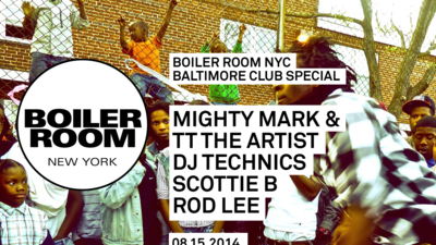 """Download the Boiler Room """"Baltimore Club Special"""" EP featuring TT The Artist, James Nasty, more"""