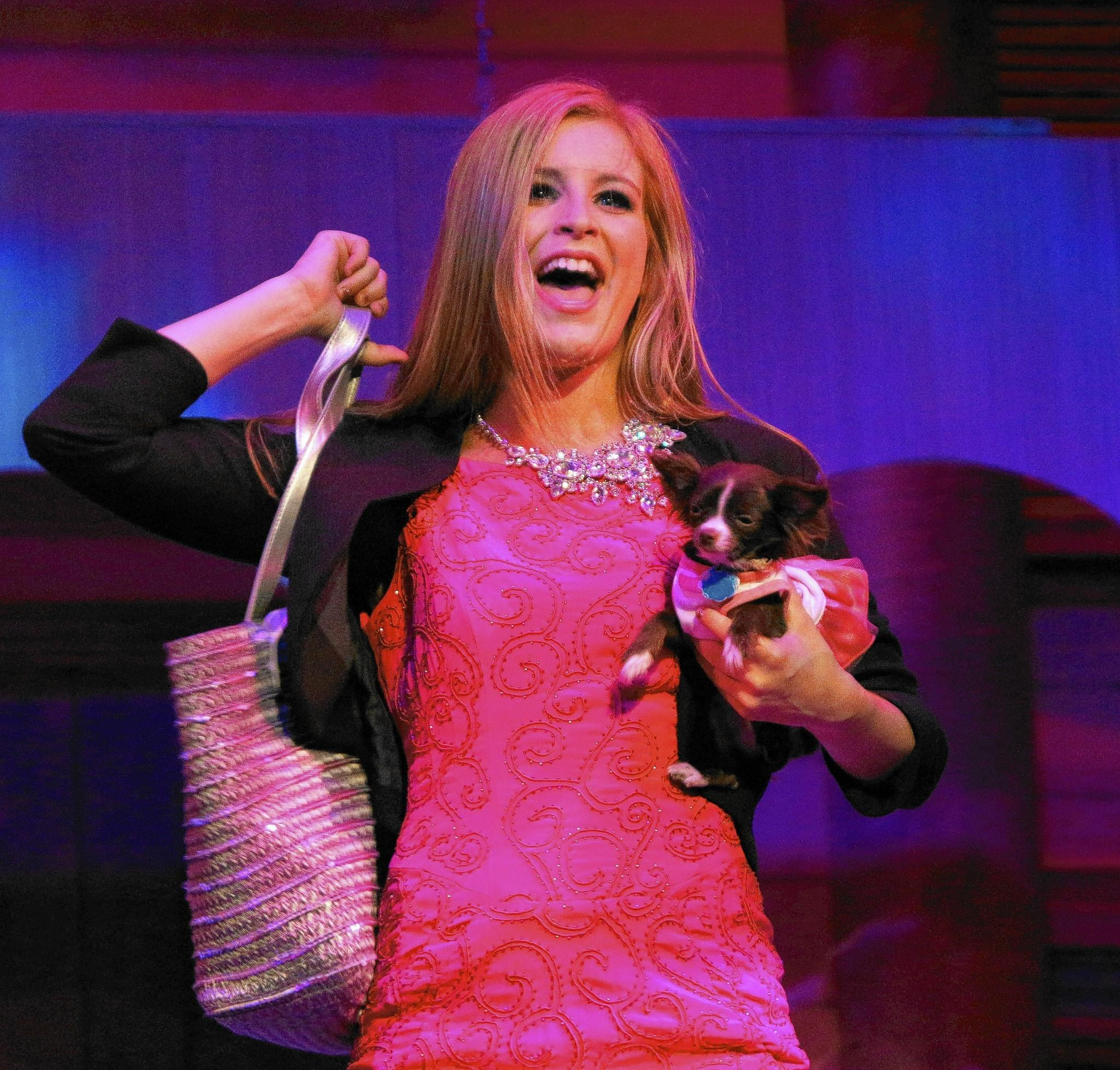 "Meredith Pughe took home the award for Best Actress in a Musical for her portrayl of Elle Woods in the Bay Street Players' production of ""Legally Blonde: The Musical."""