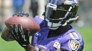 Crowded competition for Ravens' wide receiver spot