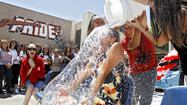 Ice challenge makes its way to Glendale High