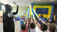 Photo Gallery: Star Wars-themed party at Caterpillar Kids Place in La Cañada Flintridge