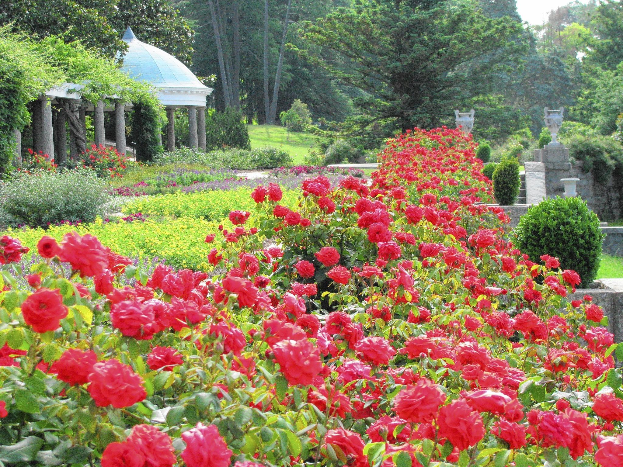 Maymont's Italian Garden. Photo courtesy Maymont