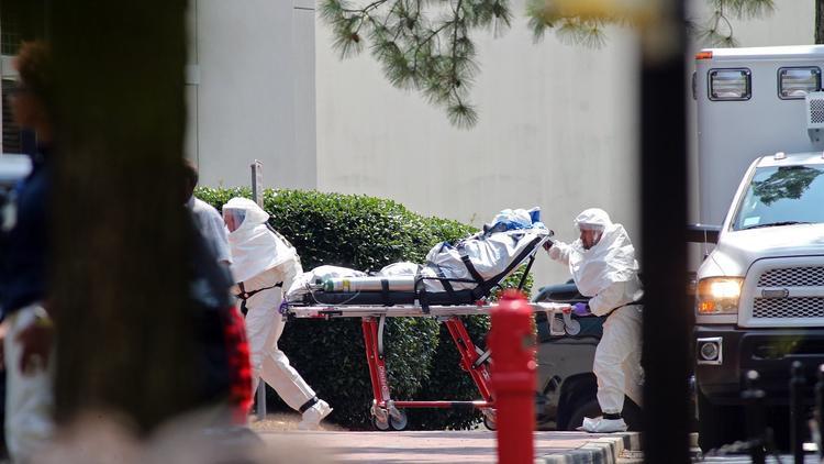 American Ebola patient
