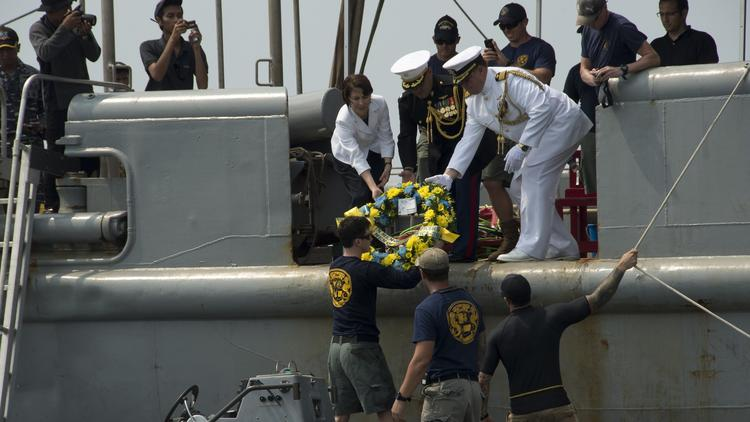 USS Houston final resting place