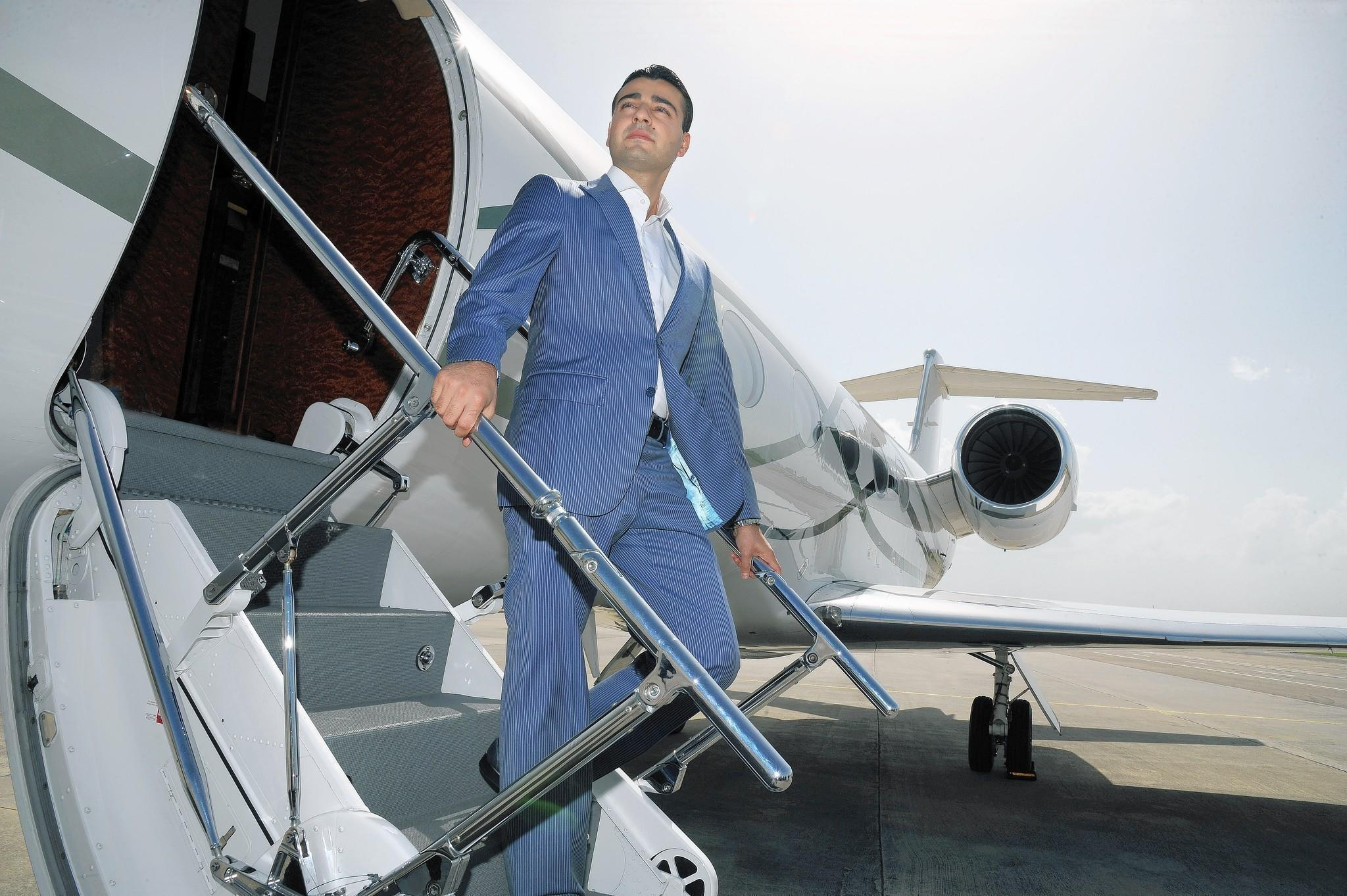 Jetsmarter CEO Sergey Petrossov says his firm has partnerships with 800 vendors with 3,200 airplanes worldwide.