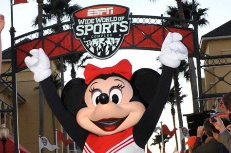 "To celebrate the College Football Playoff, Disney Parks has teamed up with ESPN and Varsity Spirit to create the ""Cheer On Your Disney Side"" contest."
