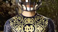 Notre Dame 2014 uniforms