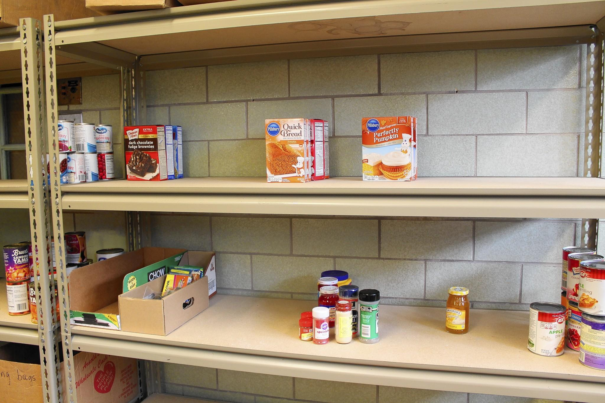 windsor locks food pantry in need of donations to fill shelves rh articles courant com food pantry shelves for sale food pantry empty shelves