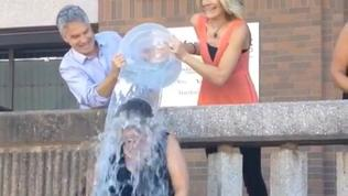 Hartford Courant Publisher Takes Ice Bucket Challenge