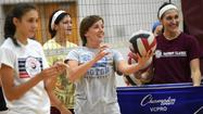 Totten filling coaching void for WM volleyball