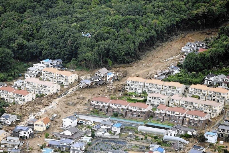 Landslides hit Japan's Hiroshima killing 18 people: media