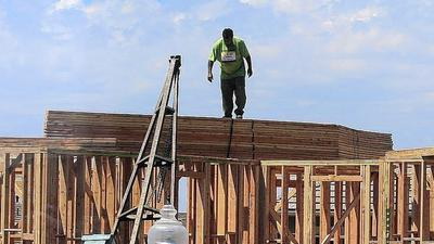 Construction of new homes hits eight-month high in July