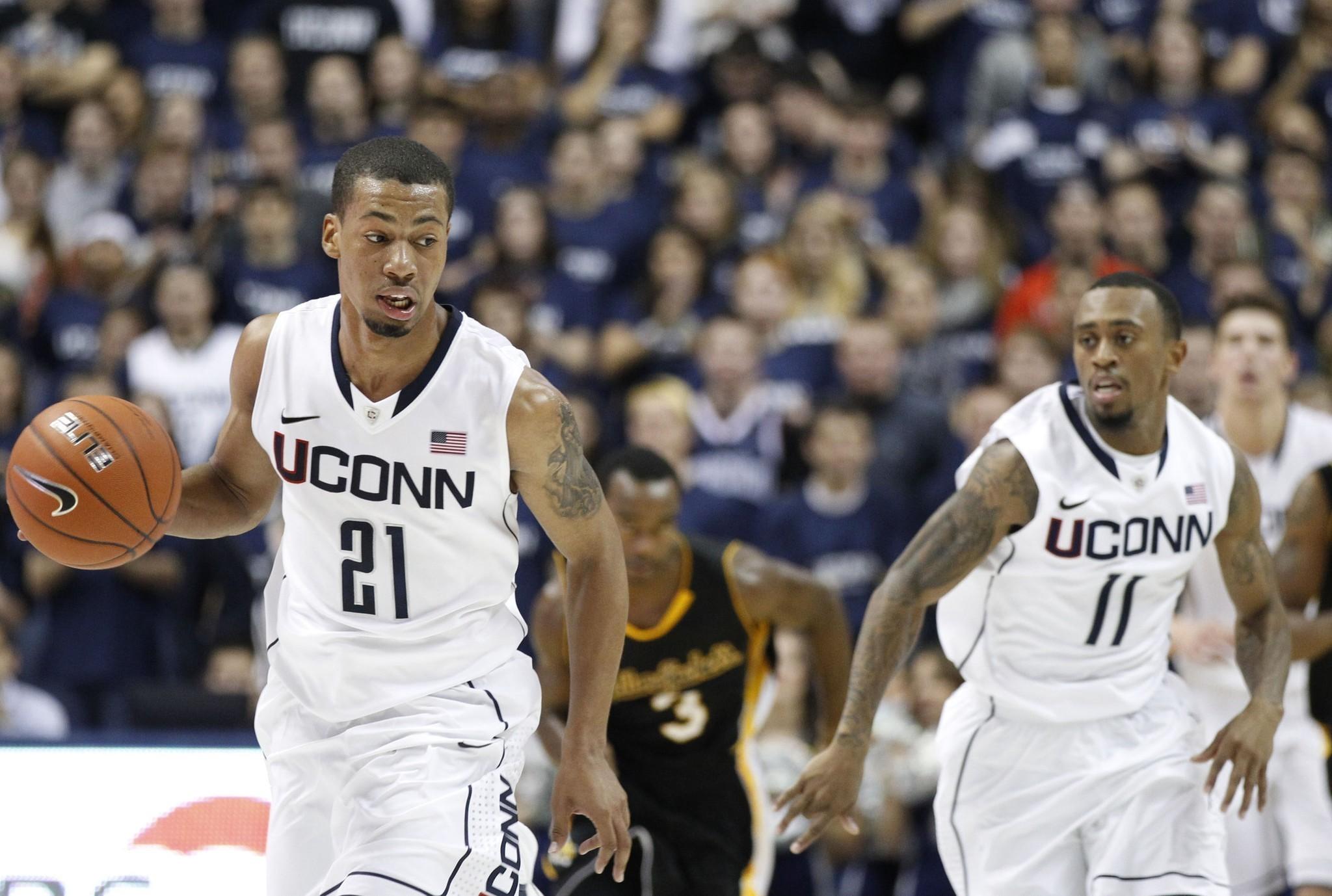uconn men's basketball: uconn men's basketball team bulks up, adds
