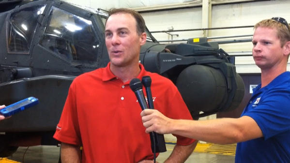 Video: NASCAR's Kevin Harvick visits Fort Eustis