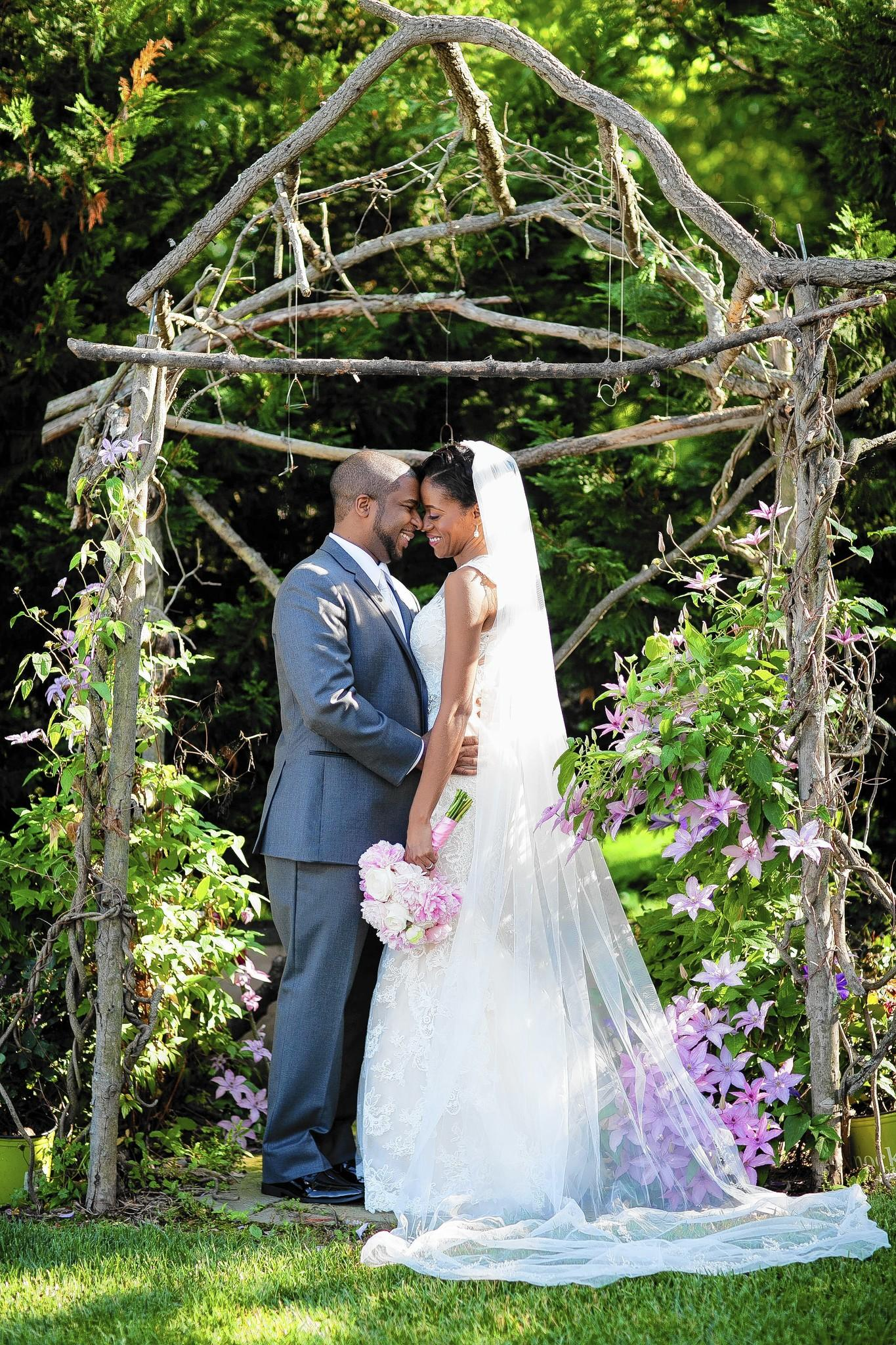 Jannette Merritt and Michael Phillips started talking on the phone a year after they first met in New York City.
