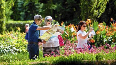 Guide To The Chicago Botanic Garden: All The Pathways Are Yours   Chicago  Tribune
